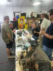 Electronics/Arcade repair class